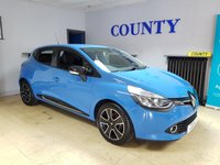 USED 2013 13 RENAULT CLIO 0.9 DYNAMIQUE MEDIANAV ENERGY TCE S/S 5d 90 BHP ONE OWNER FULL HISTORY