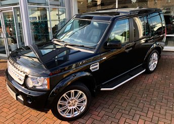 2012 LAND ROVER DISCOVERY 3.0 4 SDV6 XS 5d AUTO 255 BHP £18250.00