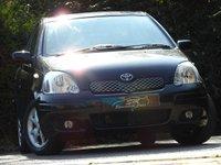 USED 2005 05 TOYOTA YARIS 1.3 T SPIRIT VVT-I 5d AUTO 85 BHP 1 OWNER ONLY 47K FSH A/C VGC
