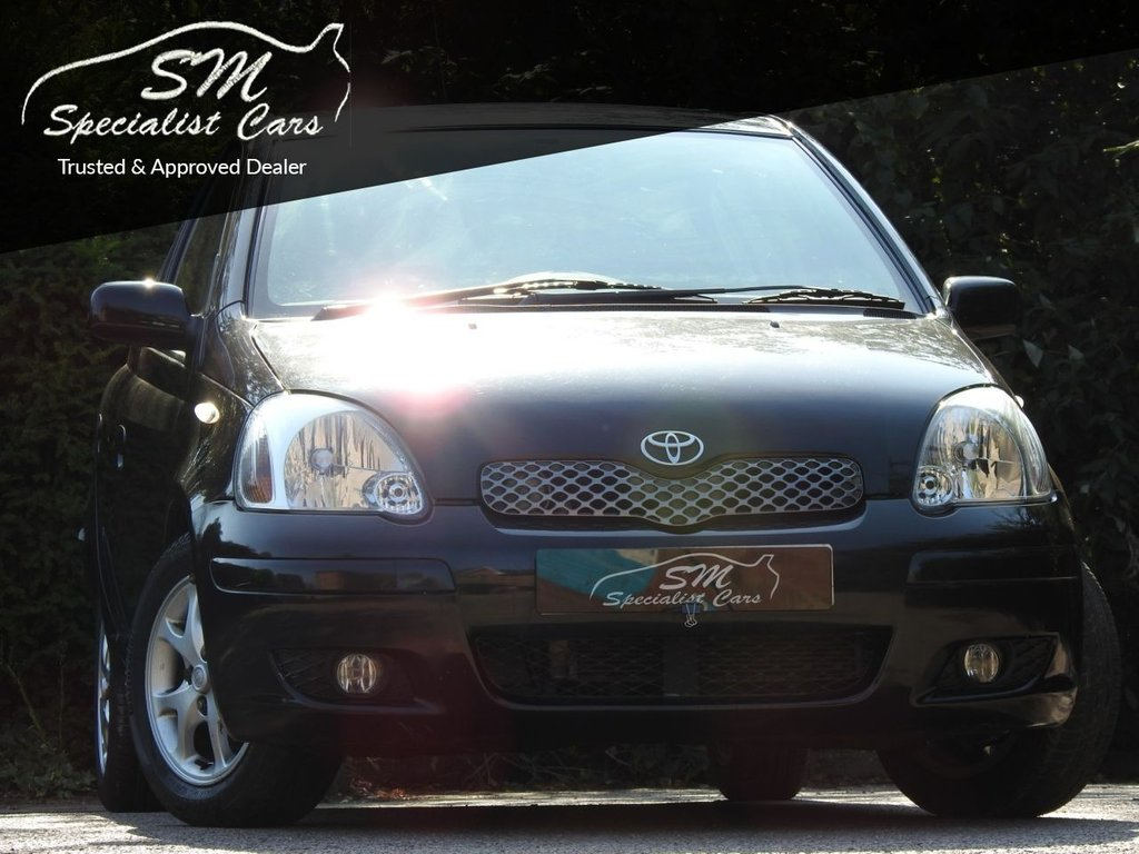 USED 2005 05 TOYOTA YARIS 1.3 T SPIRIT VVT-I 5d AUTO 85 BHP 1 OWNER ONLY 47K FSH A/C VGC