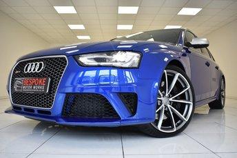 2014 AUDI RS4 4.2 FSI QUATTRO S-TRONIC £29495.00