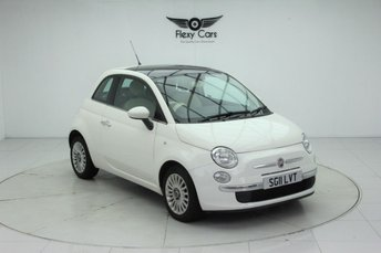 2011 FIAT 500 1.2 LOUNGE 3d 69 BHP £2940.00