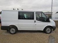 2011 FORD TRANSIT 85T 280 6 SEAT FACTORY CREW VAN £6995.00