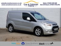 USED 2015 65 FORD TRANSIT CONNECT 1.6 200 LIMITED P/V 1d 114 BHP One Owner All FORD History DAB Buy Now, Pay Later Finance!