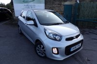 USED 2016 16 KIA PICANTO 1.0 2 5d 65 BHP Full Kia Service History Only £20 Road Tax