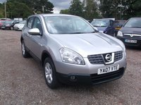 USED 2007 07 NISSAN QASHQAI 1.6 ACENTA 5d 113 BHP Great Value Qashqai, Full Year MOT and Only 2 Prev keepers!