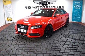 2012 AUDI A4 2.0 TDI Black Edition 4dr £9965.00