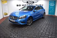 USED 2015 65 MERCEDES-BENZ A CLASS 1.5 A180 CDI Sport 7G-DCT 5dr 2 Owners, Low Mileage, SatNav