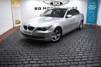 USED 2008 08 BMW 5 SERIES 2.5 523i SE 4dr Full Leather, iDrive, FSH