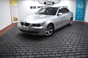 2008 BMW 5 SERIES 2.5 523i SE 4dr £4365.00