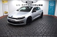 USED 2009 59 VOLKSWAGEN SCIROCCO 2.0 TDI CR 3dr Cambelt+Waterpump Replaced,FSH