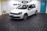 USED 2010 60 VOLKSWAGEN GOLF 1.6 TDI Match DSG 5dr 2 Owners, Low Mileage, DSG