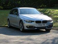 USED 2015 15 BMW 3 SERIES 2.0 320D SPORT TOURING 5d 181 BHP FULL BMW HISTORY & SAT NAV!