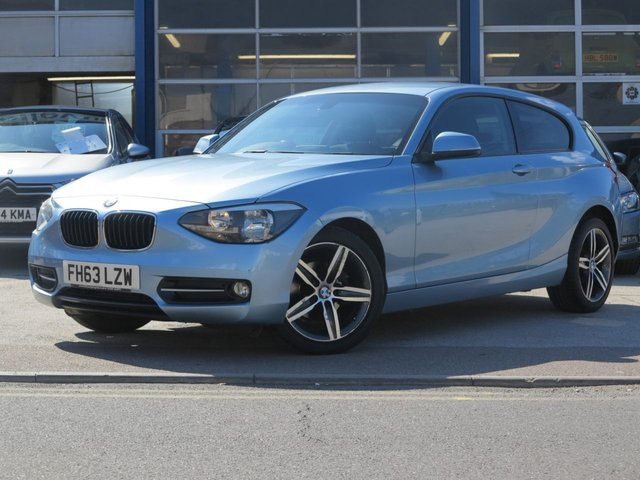 USED 2014 63 BMW 1 SERIES 1.6 116I SPORT 3d AUTO 135 BHP