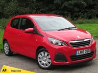 USED 2016 16 PEUGEOT 108 1.0 ACTIVE 5d 68 BHP LOW MILEAGE STARTER CAR