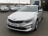 USED 2017 17 KIA OPTIMA 1.7 CRDI 2 ISG 4d 139 BHP BALANCE OF MANUFACTURERS SEVEN YEAR WARRANTY