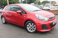 USED 2016 16 KIA RIO 1.2 SR7 3d 83 BHP ONLY ONE OWNER FROM NEW - SERVICE HISTORY - MASSIVE MPG - ONLY £30 PER YEAR ROAD TAX