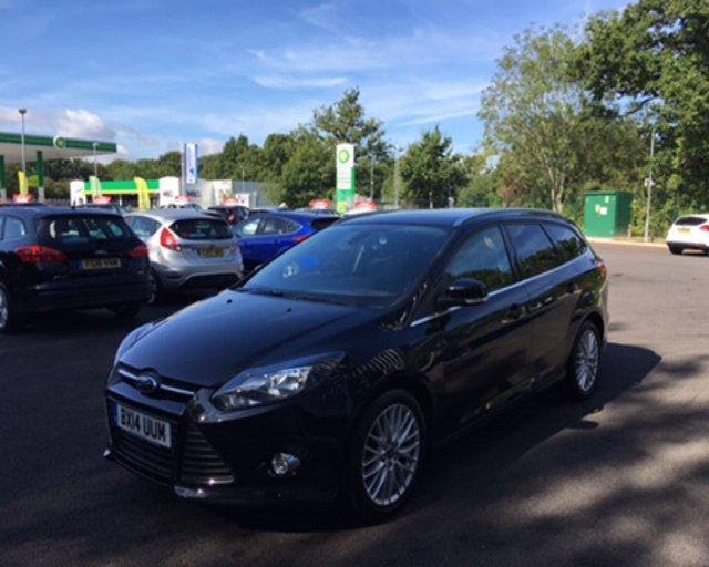 2014 14 FORD FOCUS 1.6 ZETEC AUTOMATIC 125 BHP
