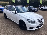 2012 MERCEDES-BENZ C CLASS 2.1 C220 CDI BLUEEFFICIENCY AMG SPORT PLUS 5d 168 BHP £10000.00