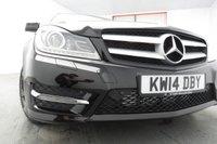 USED 2014 14 MERCEDES-BENZ C CLASS 2.1 C220 CDI AMG SPORT EDITION PREMIUM PLUS 2d AUTO 168 BHP NAV - LEATHER - PAN ROOF