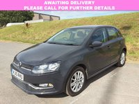 USED 2015 15 VOLKSWAGEN POLO 1.4 SE TDI BLUEMOTION 5d 74 BHP 1 OWNER | DAB | ALLOYS | AC |