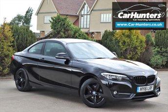 2016 BMW 2 SERIES 1.5 218I SPORT 2d 134 BHP £12995.00