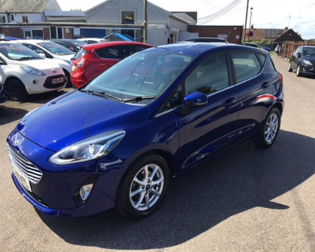 2018 18 FORD FIESTA 1.0 ZETEC ECOBOOST NAVIGATOR (100PS) NEW MODEL