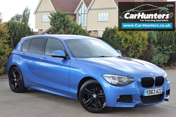 2013 BMW 1 SERIES 2.0 118D M SPORT 5d AUTO 141 BHP £10995.00