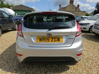 USED 2015 15 FORD FIESTA 1.6 SPORT 95 BHP WITH AIR CON, HEATED SEATS & PARKING SENSORS