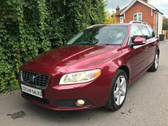 2007 VOLVO V70 2.5 T PETROL SE LUX AUTOMATIC - FULL SERVICE HISTORY - 11 DEALER STAMPS - ULEZ COMPLIANT -ELECTRIC MEMORY DRIVER SEAT, ELECTRIC PASSENGER SEAT, HEATED SEATS, CRUISE CONTROL  £6490.00