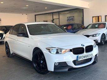2017 BMW 3 SERIES 2.0 320D XDRIVE M SPORT 4d AUTO 188 BHP £18990.00