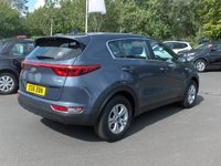 USED 2016 16 KIA SPORTAGE 1.7 CRDI 1 ISG 5d 114 BHP BALANCE OF MANUFACTURERS SEVEN YEAR WARRANTY