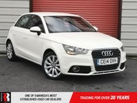 USED 2014 14 AUDI A1 1.6 SPORTBACK TDI SPORT 5d 103 BHP 3 Spoke Leather Multi function Steering Wheel