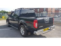 USED 2015 64 NISSAN NAVARA 2.5 DCI TEKNA 4X4 5 Seat Double Cab Pickup AUTO with Great High Spec inc Sat Nav Heated Elec Leather Seats Bluetooth Rear Camera Side Steps Roof Bars