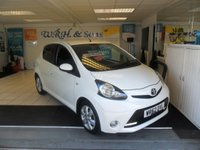 USED 2012 62 TOYOTA AYGO 1.0 VVT-I FIRE AC 5d 67 BHP
