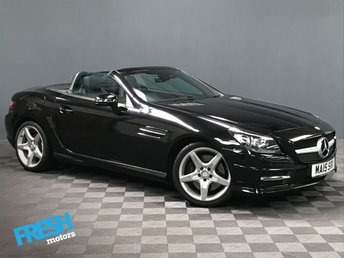 2015 MERCEDES-BENZ SLK 2.1 SLK250 CDI BLUEEFFICIENCY AMG SPORT AUTO  £15000.00