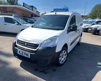 USED 2016 16 PEUGEOT PARTNER 1.6 HDI PROFESSIONAL L1 850 1d 89 BHP immaculate inside and out