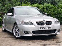 USED 2009 59 BMW 5 SERIES 3.0 525D M SPORT BUSINESS EDITION 4d AUTO 195 BHP