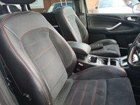 USED 2010 10 FORD S-MAX 2.0 TITANIUM X SPORT 5d AUTO 201 BHP FSH+HALF LEATHER+PAN ROOF+BT