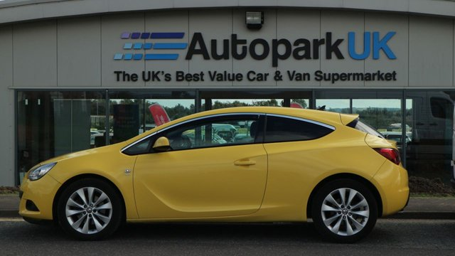 USED 2014 63 VAUXHALL ASTRA 2.0 GTC SRI CDTI S/S 3d 162 BHP LOW DEPOSIT OR NO DEPOSIT FINANCE AVAILABLE