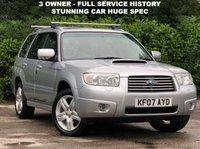 2007 SUBARU FORESTER 2.5 XTEN 5d 230 BHP £6500.00