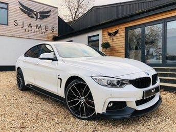 2015 BMW 4 SERIES 3.0 435D XDRIVE M SPORT GRAN COUPE 4d AUTO 309 BHP £22490.00