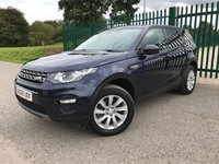 2015 LAND ROVER DISCOVERY SPORT 2.0 TD4 SE TECH 5d 180 BHP 7 SEATER SATNAV LEATHER PRIVACY £19490.00