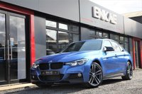 """USED 2018 18 BMW 3 SERIES 2.0 320D XDRIVE M SPORT SHADOW EDITION 4d AUTO 188 BHP M PERFORMANCE BODY KIT*HARMAN KARDON*X-DRIVE*SHADOW EDITION*REVERSE CAMERA*PRIVACY GLASS*19"""" ALLOYS*HEATED SEATS*LEATHER SEATS*ELECTRIC MIRRORS*ELECTRIC FOLDING MIRRORS*CRUISE CONTROL*KEY-LESS START*CLIMATE CONTROL*DAB RADIO*PHONE PREP*"""