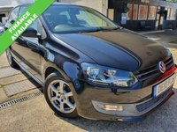 USED 2010 10 VOLKSWAGEN POLO 1.2 MODA A/C 3d 60 BHP