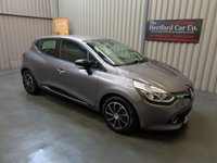 2013 RENAULT CLIO 0.9 DYNAMIQUE MEDIANAV ENERGY TCE ECO2 S/S 5d 90 BHP £4995.00