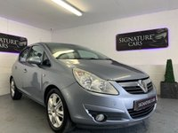 USED 2009 09 VAUXHALL CORSA 1.4 DESIGN 16V TWINPORT 5d AUTO 90 BHP