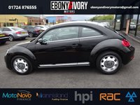 USED 2014 14 VOLKSWAGEN BEETLE 2.0 DESIGN TDI 3d 139 BHP + 1 YEAR MOT AND BREAKDOWN COVER