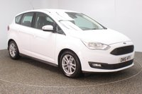 USED 2016 16 FORD C-MAX 1.5 ZETEC TDCI 5DR AUTO 1 OWNER 118 BHP FULL SERVICE HISTORY + £20 12 MONTHS ROAD TAX + PARKING SENSOR + BLUETOOTH + MULTI FUNCTION WHEEL + AIR CONDITIONING + DAB RADIO + ELECTRIC WINDOWS + ELECTRIC MIRRORS + 16 INCH ALLOY WHEELS