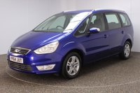 USED 2014 64 FORD GALAXY 2.0 ZETEC TDCI 5DR 7 SEATS FULL SERVICE HISTORY + 7 SEATS + PARKING SENSOR + BLUETOOTH + CLIMATE CONTROL + MULTI FUNCTION WHEEL + RADIO/CD/AUX + ELECTRIC SEATS + ELECTRIC WINDOWS + ELECTRIC MIRRORS + 16 INCH ALLOY WHEELS